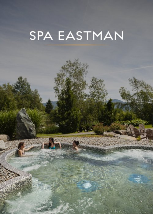Spa Eastman : e-commerce website fully integrate with ResortSuite